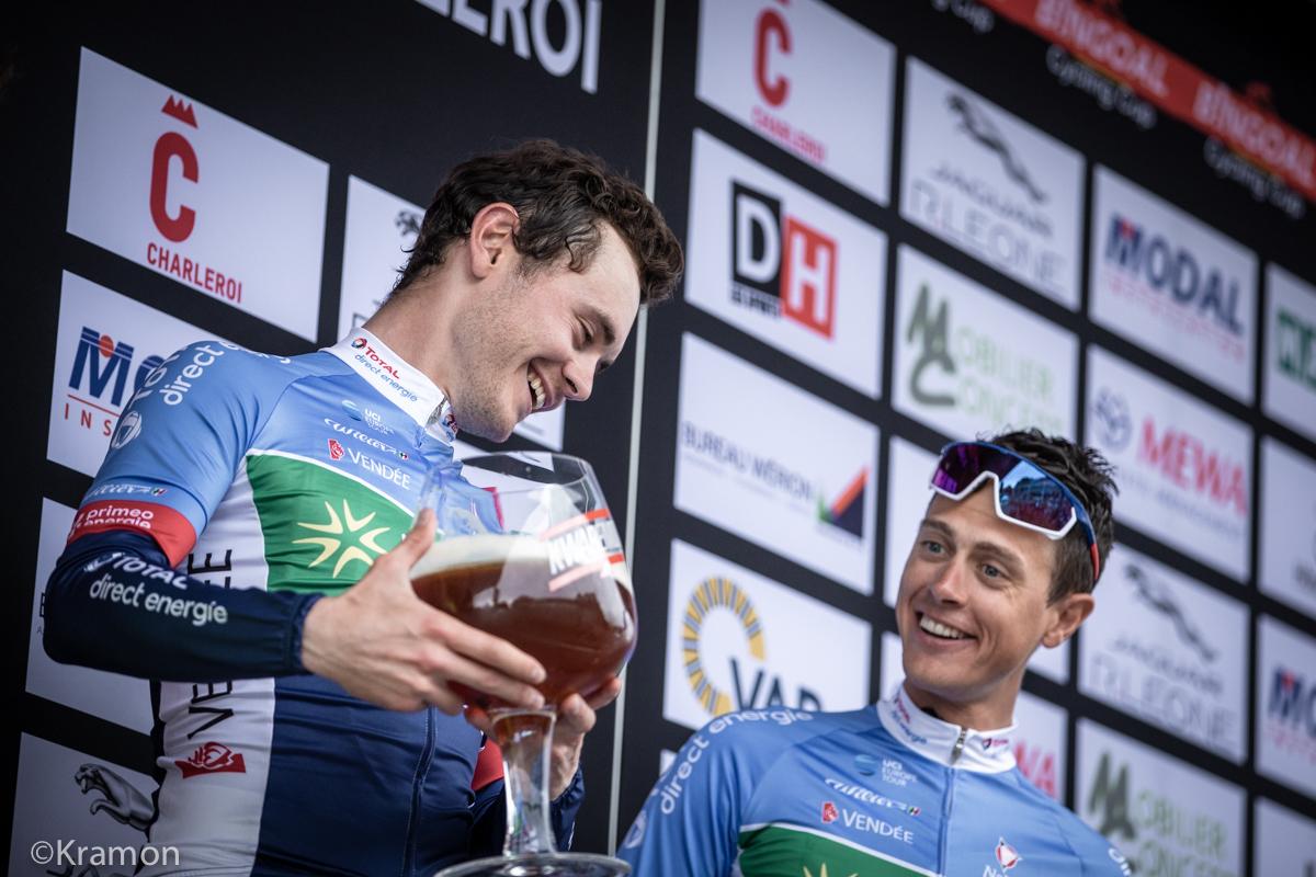 """Reacties na het Circuit de Wallonie: """"Tactisch hebben we sterk gereden"""" - Bingoal Cyling Cup"""
