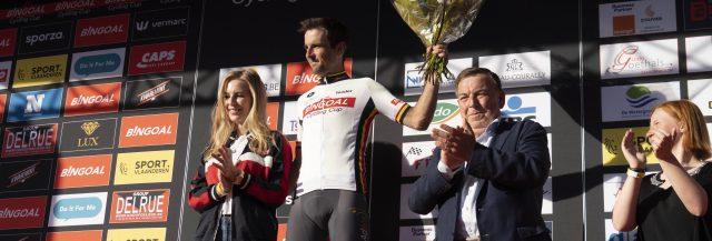 Baptiste Planckaert dicht bij eindwinst Bingoal Cycling Cup 2019