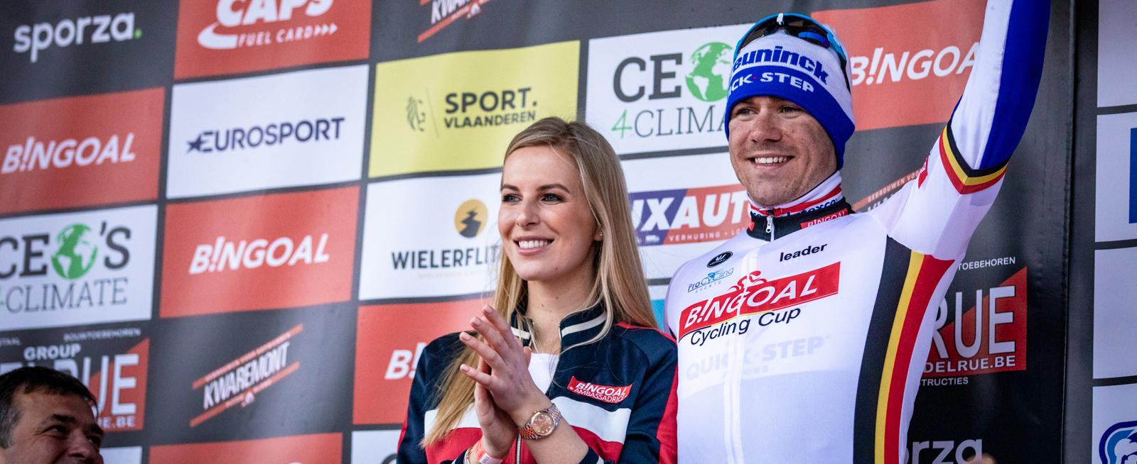 Jakobsen eerste leider Bingoal Cycling Cup 2020