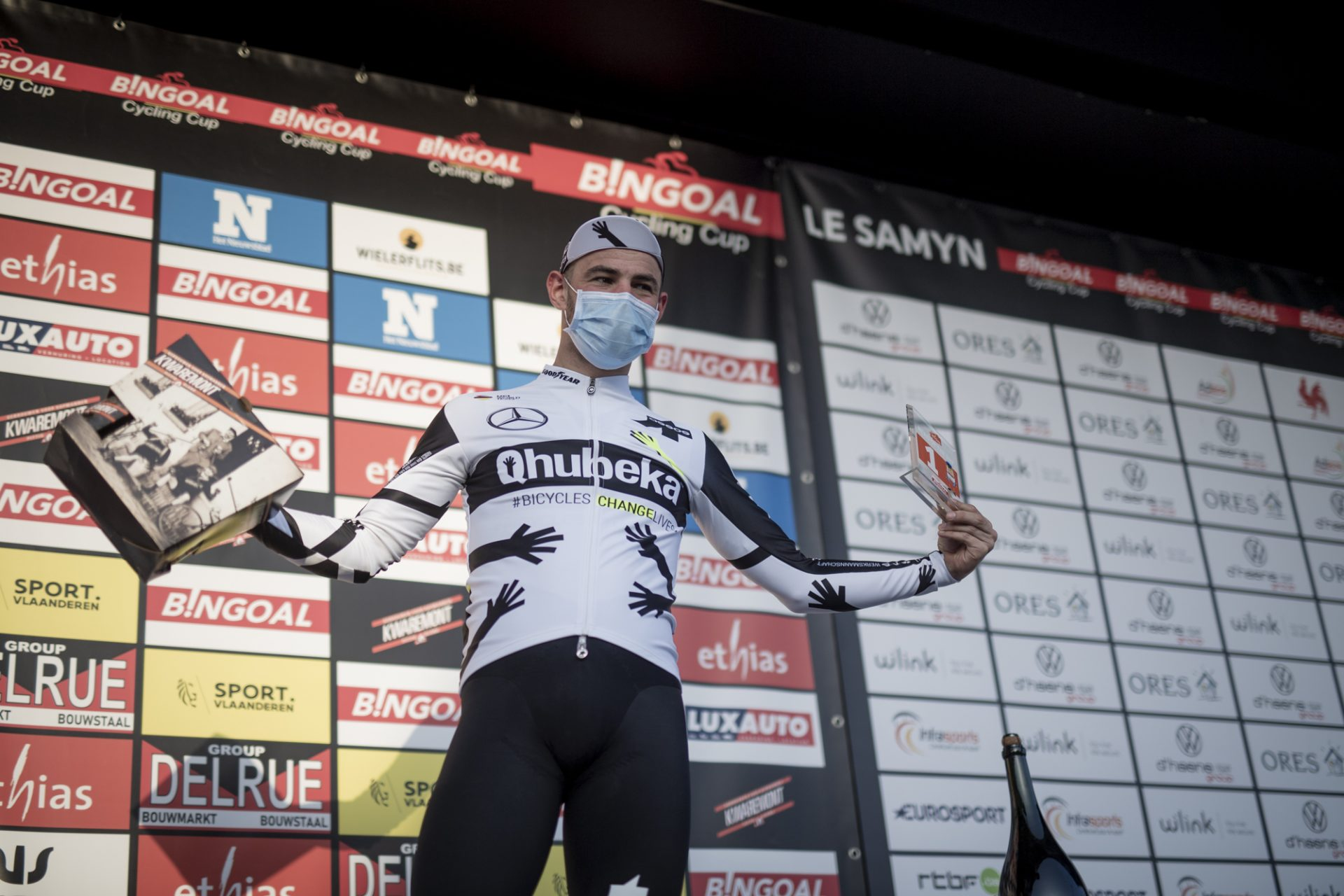 Victor Campenaerts eerste Ethias Hero of the Day van 2021
