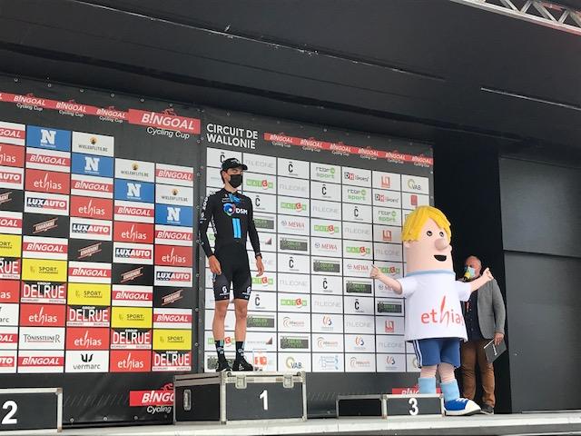 Henri Vandenabeele (Development Team DSM) is de Ethias Hero of the Day op Circuit de Wallonie!