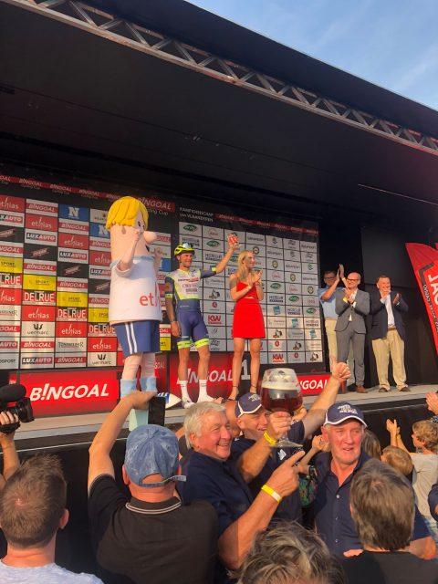 Corné Van Kessel laatste Ethias Hero of the Day van 2021! - Bingoal Cyling Cup